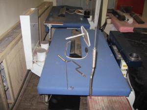 Gőzfejlesztő és vasalóasztal