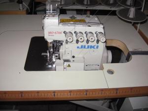 Yuki 5-szálas interlock varrógép
