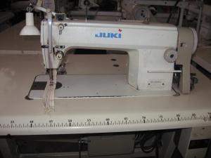 Juki 5550 szálvágós simatűtző
