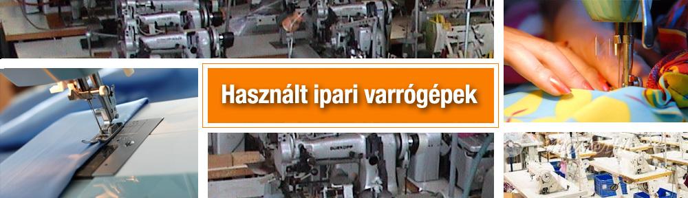 Használt ipari varrógépek