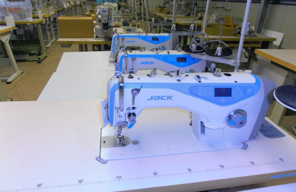 Jack simatűző új varrógép