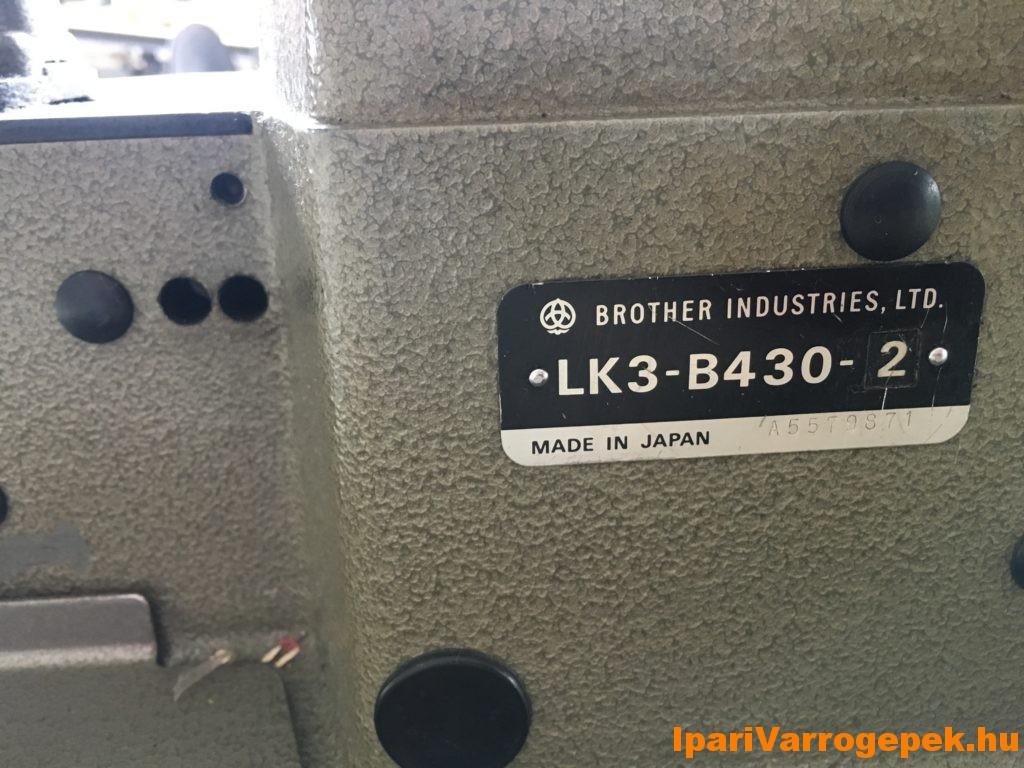 BROTHER LK3-B430 42 öltéses reteszelő