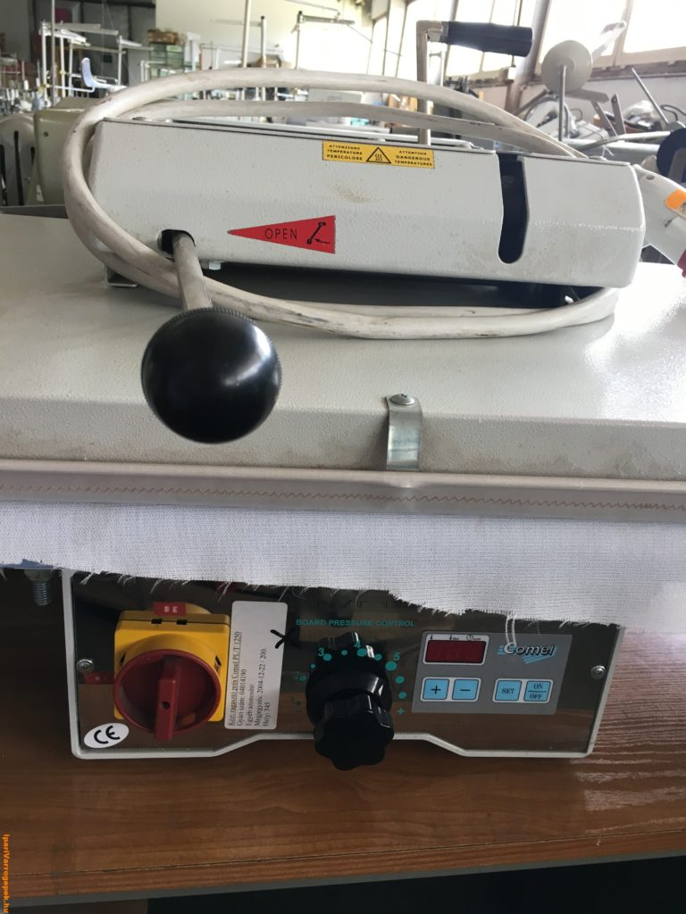 COMEL PL/T 1250 kézi ragasztő hőprés