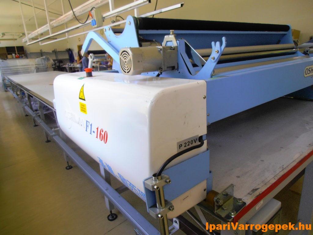 Oshima F1-160 típusú teljes automata terítőgép