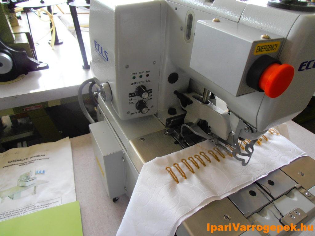 Suzuki SE200 ECLS típusú automata gomblyukazógép